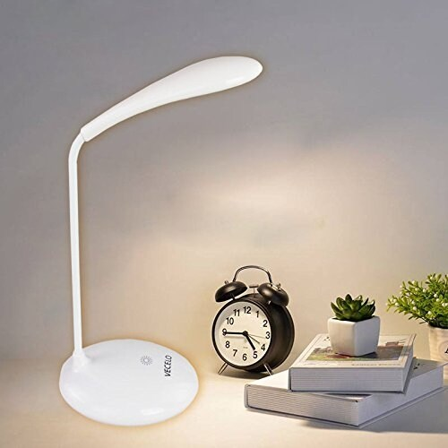 Multi-directional Touch Activated LED Desk Lamp With 3 Brightness