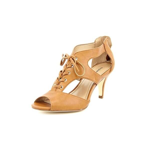 Style & Co Parrah Women Open Toe Synthetic Tan Sandals