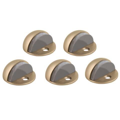 """Design House 181875 1-3/4"""" Diameter Dome Floor Door Stop - 5 Pack"""