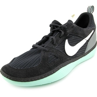 Nike SolarSoft Run Round Toe Synthetic Sneakers