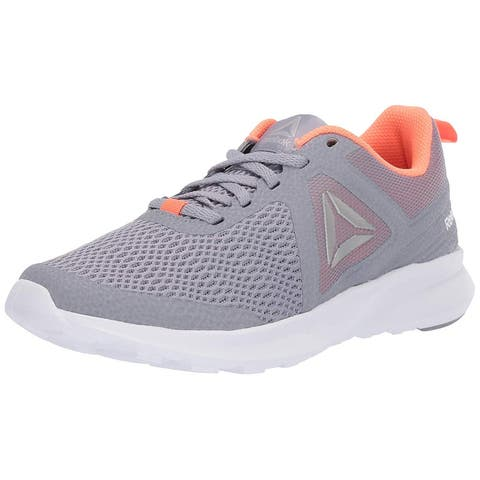 Reebok Womens Speed Breeze Running Shoe, Adult, Cool Shadow/Guava Punch/White/Silver