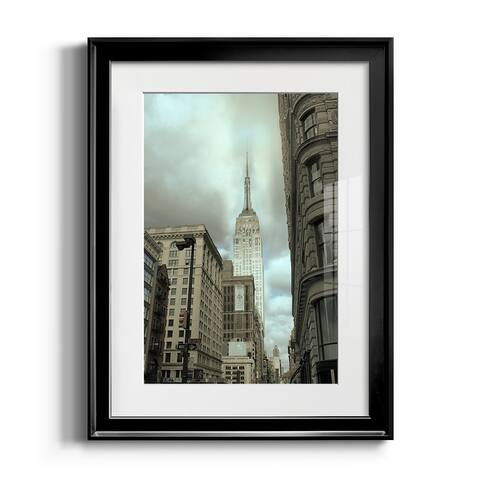 Empire View Premium Framed Print - Ready to Hang