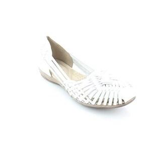 Naturalizer Womens Gobi Leather Closed Toe Casual Slide Sandals