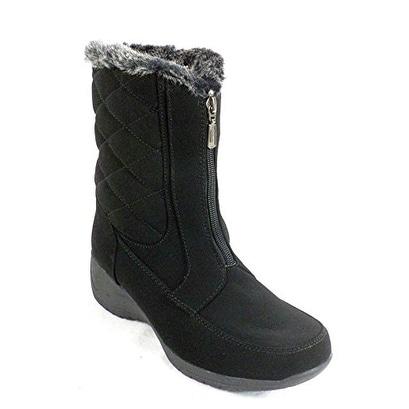 Khombu Angela Round Toe Synthetic Snow Boot