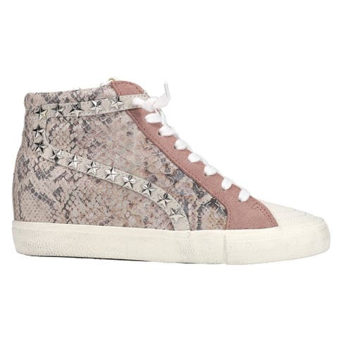 Vintage Havana Kirbati Snake Lace Up Womens Sneakers Shoes Casual