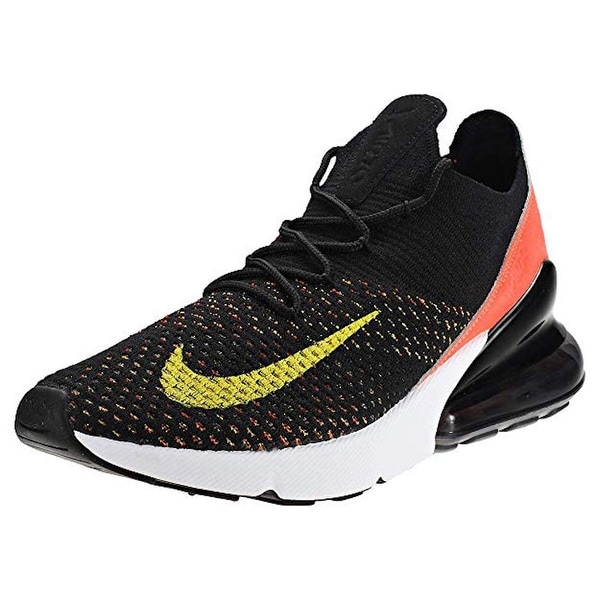 Shop Nike Men's Air Max 270 Flyknit Running Shoe Overstock