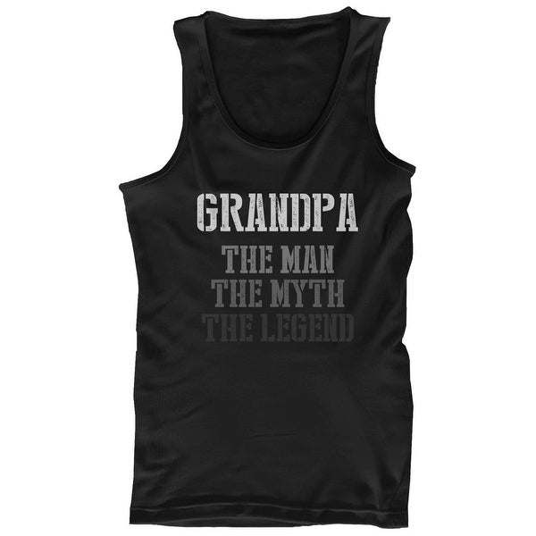 0afb8896fa4db The Man Myth Legend Tank Top for Grandpa Christmas Gift for Grandfather