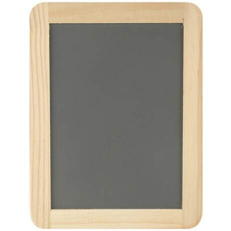 "Framed Chalkboard -5""X7"" - Black"