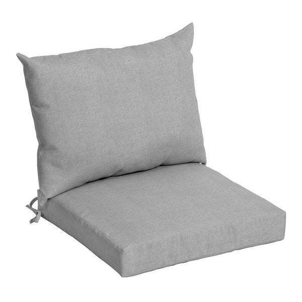 Arden Selections Outdoor 21 x 21 in. Dining Chair Cushion Set. Opens flyout.