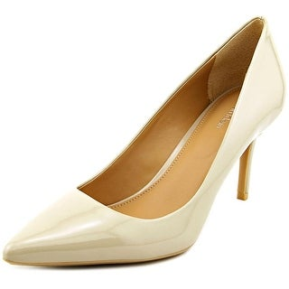 Calvin Klein Gayle Pointed Toe Patent Leather Heels