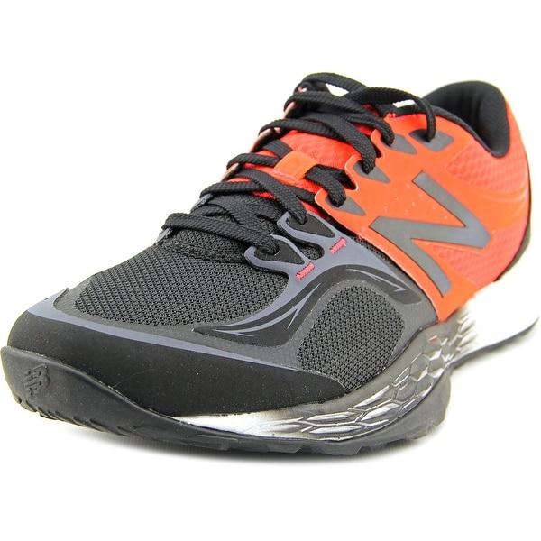 New Balance MX80 Men Round Toe Canvas Black Tennis Shoe