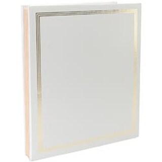"""White - Post Bound Jumbo Album 11""""X14"""""""