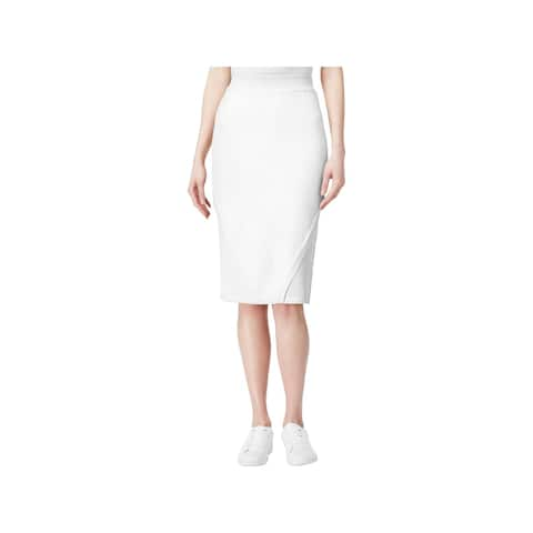 Rachel Rachel Roy Womens Pencil Skirt Pointelle Inset Pull On