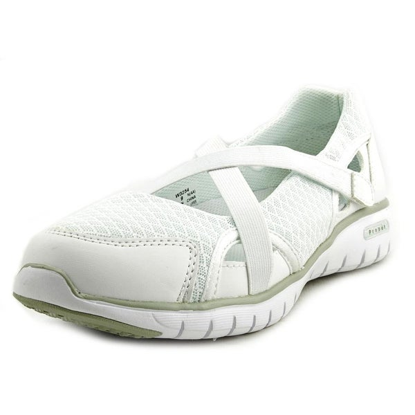 Propet Travellite Mary Jane Women White Flats