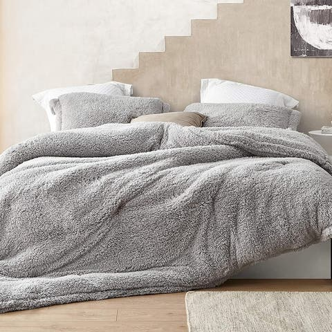 I Know You Know - Coma Inducer Oversized Comforter - Quiet Gray