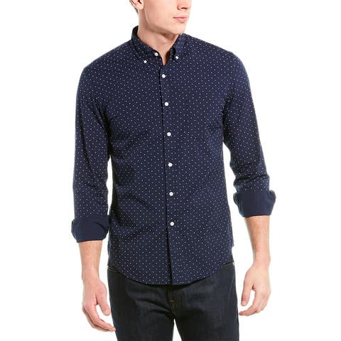 J.Crew Stretch Washed Slim Fit Woven Shirt