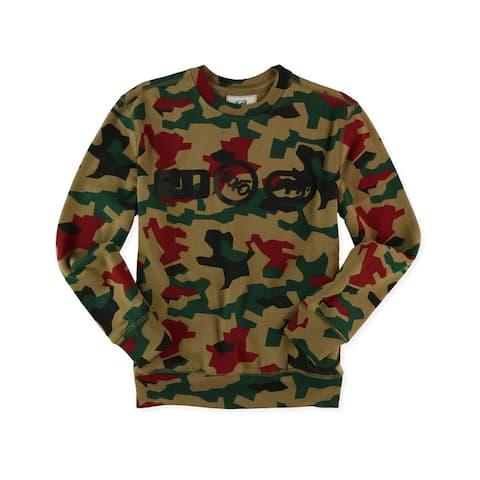 Ecko Unltd. Mens Camo Logos Sweatshirt