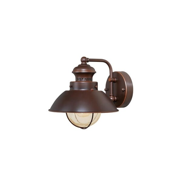 """Vaxcel Lighting OW21581 Harwich 1-Light Outdoor Wall Sconce - 8"""" Wide - n/a"""