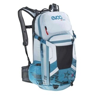 EVOC FR Trail Women Protector Hydration Backpack - 20L - copenhagen blue/white