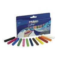 Prang Pastello Colored Paper Chalk, Assorted Colors, Pack of 12