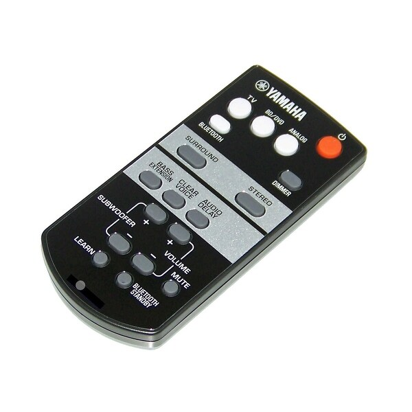 OEM Yamaha Remote Control Originally Shipped With: SRT700, SRT-700, YAS105, YAS-105