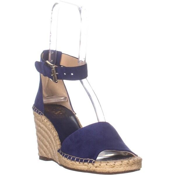 a855faa850d Shop Vince Camuto Leera Espadrille Wedge Sandals, Moody Blues - 6.5 ...