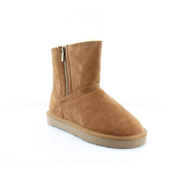 Style & Co. Womens Ciley Suede Closed Toe Ankle Fashion Boots - 10