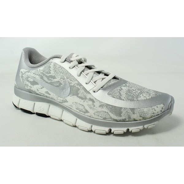 size 40 0cfdf 66b09 Nike Womens Free 5.0 V4 Ns Pt Gray Running Shoes Size 12