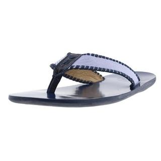 Jack Rogers Mens Sullivan Slide Colorblock Flip-Flops - 9.5 medium (d)
