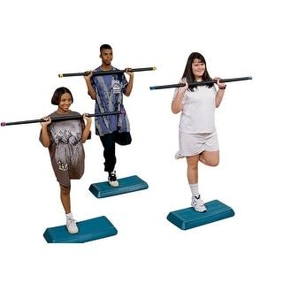 Sportime 18 Pounds Aerobic Workout Bar, Red