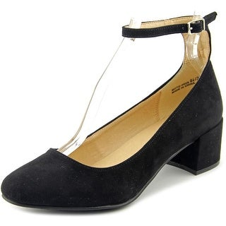 Chinese Laundry Mable Women Round Toe Synthetic Black Heels