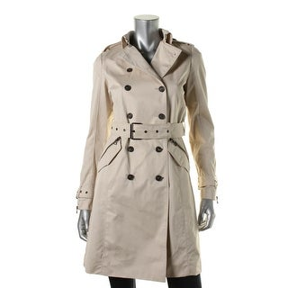 Zara Basic Womens Lined Outerwear Trench Coat - S