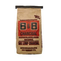 B & B Charcoal 00043 Oak Hardwood Lump Charcoal, 10 lb.
