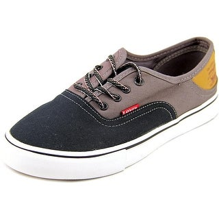Levi's Rula Women Round Toe Canvas Black Sneakers