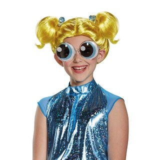 Disguise Bubbles Child Wig - blonde/blue