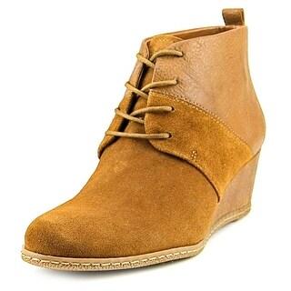 Franco Sarto Albi   Open Toe Leather  Wedge Heel
