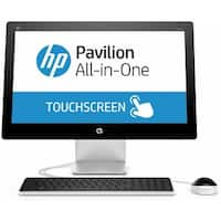 """Manufacturer Refurbished - HP Pavilion 22-a014ld 21.5"""" Touch AIO Intel Pentium G3250T 2.8GHz 4GB 1TB Win 10"""