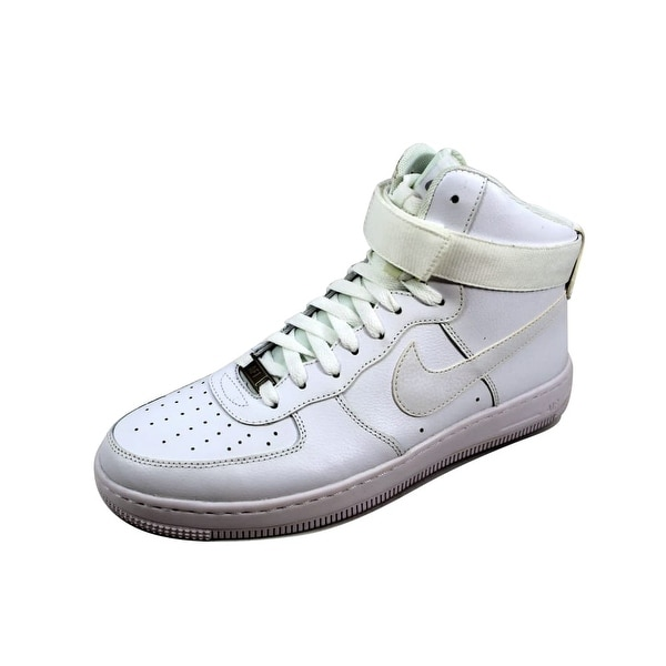 19644fd141f Shop Nike Women s Air Force 1 Ultra Force Mid ESS White White-Wolf ...