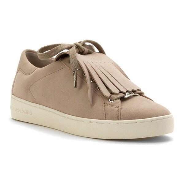 0f5bb216110a MICHAEL Michael Kors Womens Keaton Kiltie Leather Low Top Slip On Fashion  Sne.