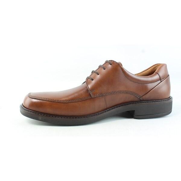 Shop ECCO Mens Holton Apron Toe Cognac Oxford Dress Shoe EUR