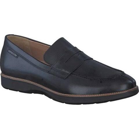 Mephisto Men's Vilfredo Penny Loafer Black Randy Smooth Leather