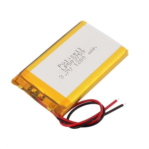 DC 3.7V 1200mAh Recycle Charging Lithium Polymer Battery Pack for Milk Pump