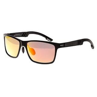 Breed Pyxis Men's Titanium Sunglasses - 100% UVA/UVB Prorection - Polarized/Mirrored/Gradient Lens - Multi