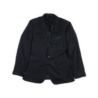 Zara Mens Wool Blend Notch Collar Two-Button Suit Jacket - 42