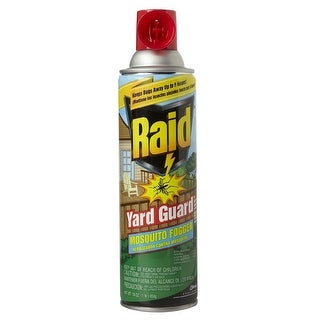 Raid 01601 Yard Guard Outdoor Mosquito Fogger, 16 Oz.