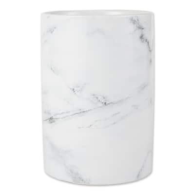 DII Marble Ceramic Utensil Holder