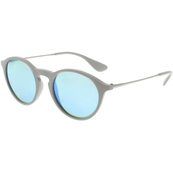 1289c6c8fa Shop Ray-Ban RB4243-6262B4-49 Grey Oval Sunglasses - Free Shipping Today -  Overstock.com - 18914576
