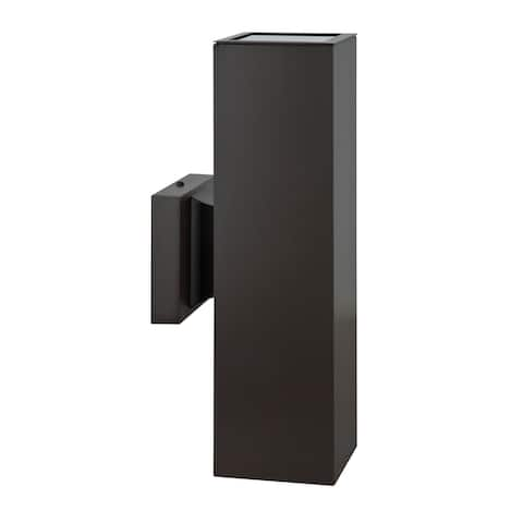 Modern Outdoor Light for Home Exterior Aluminum Wall Sconce Weather Resistant Wet Rated, Oil Rubbed Bronze