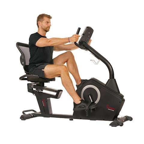 Sunny Health & Fitness Stationary Recumbent Bike - SF-RB4850