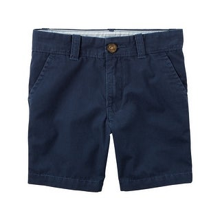 Carter's Little Boys' Uniform Flat-Front Shorts, 4-Toddler